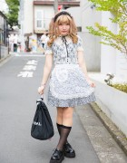 Harajuku Girl w/ Twin Tails & Lace Outfit w/ Honey Cinnamon, Katie, Milk & G2?