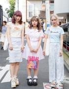 Harajuku Girls in Pastel Fashion w/ Bubbles, Kawi Jamele, Tokyo Bopper, LDS x AMO & WEGO