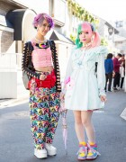 Kawaii Harajuku Styles w/ Pastel Hair, 6%DOKIDOKI, Cosmic Magicals & My Melody