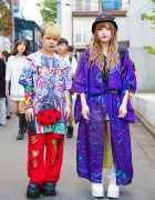 Colorful Outfits w/ Kimono, Dog Harajuku, Demonia, Cayhane, Handmade & Resale Items