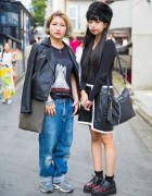 Harajuku Teens w/ Bubbles Heart Creepers, Youth Machine, Rick Owens & Vivienne Westwood