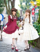 Harajuku Lolita Fashion w/ Mary Magdalene Dresses, Violin Bags, BTSSB & Alice and the Pirates