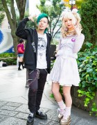 Candye Syrup Harajuku Staff w/ Green Hair, Swankiss, Jouetie, Ank Rouge & Liz Lisa
