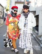 Tokyo Street Styles w/ Berets, Niimi, MYOB, Buffalo, Moschino & Dog Harajuku