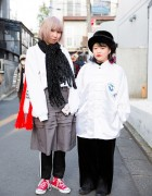 Harajuku Girls w/ Pin Nap, Funktique, Comme des Garcons, Adidas, Nadia & Vidakush Items