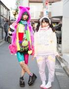 Colorful Harajuku Girls w/ Galaxxxy, Milklim, sakura1tama & Doll Parts