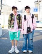 Harajuku Guys Fashion by San to Nibun no Ichi, Funktique & Tokyo Bopper