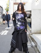 Harajuku Goth Style w/ Sex Pot Revenge, Sixh, Yosuke & h.NAOTO