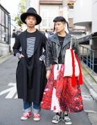 Room Boy Pony & Daisuke w/ Comme des Garcons & Agnes B in Harajuku