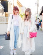 Pastel Lingerie-Inspired Styles w/ Kinji, Bubbles Harajuku, Dazzlin, UNIF & Vintage Items