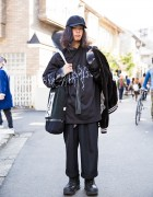 Harajuku Guy in Sub-Age Sweatshirt, Comme des Garcons, Plenty of Water & SokKyo
