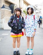 Harajuku Girls in Galaxxxy Japan Fashion w/ Dress 'N Dazzle, Milklim, Itazura & Nakano Ropeway