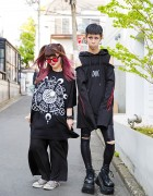 Never Mind the XU Harajuku Street Styles w/ Drinkscancode, Demonia & Converse
