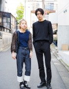 Harajuku Street Styles by Toga, Prada, Maison Margiela & Jil Sander