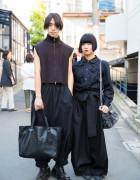 Minimalist Street Fashion w/ Maison Margiela, Kujaku, Comme des Garcons & Ann Demeulemeester