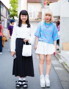 Harajuku Girls in Adidas, Joyrich, American Apparel & YRU Items