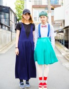 Harajuku Girls in Bow Tie, Tokyo Bopper, Muji, GU & Resale Fashion