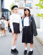 Harajuku Girls in Minimalist Fashion with American Apparel, Nadia, Don Quijote, GU and WEGO