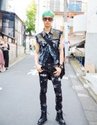 Punk-inspired Harajuku Style w/ Z Vargas, Y-3, Comme des Garcons, Givenchy, Monomania & Dr. Martens