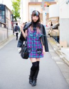 RinRin Doll in Harajuku w/ Dip Dye Hair LilLilly, Morph8ne, E hyphen world gallery & Milk