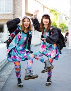 Harajuku Singers in Colorful Fashion Styles w/ Plastic Tokyo, Dr. Martens, X-Girl & KaneZ