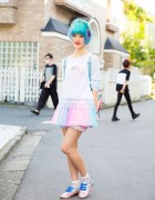 Cute Harajuku Style w/ Pastel Fashion from 6%DOKIDOKI & Irregular Choice Shoes