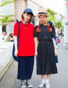 Harajuku Girls in Hats w/ Aymmy in the Batty Girls, Merry Jenny, Kaorinomori & Override
