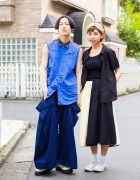 Harajuku Street Styles w/ Resale Fashion, Comme des Garcons, Yohji, George Cox & Converse