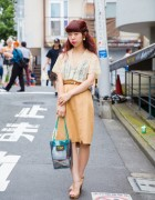 Harajuku Girl in Vintage Fashion From Tokyo's G2? Boutique