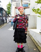 Harajuku Designer in Comme des Garcons, Sunao Kuwahara, Tokyo Bopper & Shiho Tabei Earrings