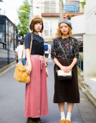 Harajuku Duo in Vintage Fashion w/ Items from Linetta, Crisp, Lowrys Farm & Dr. Martens