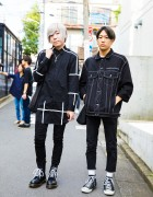 Harajuku Monochrome Fashion w/ M.Y.O.B., Never Mind the XU, Milk Boy & Chrome Hearts