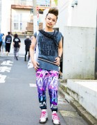 Japanese DJ in Harajuku w/ Milkboy, Hysteric Glamour, Viviano Sue & Dr. Martens