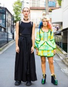 Harajuku Duo in Fashion by Ariadna Punsetes, YRU, Chanel, New Rock & Vintage Shops