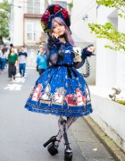 Harajuku Lolita in Angelic Pretty, Anges et Demons, Metamorphose & Lux Stellae