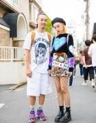 "Harajuku Street Styles w/ Badqueen, Indyanna ""Spice Girls"", UNIF & Dr. Martens"