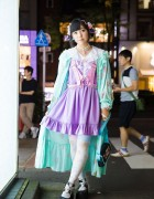 Pastel Harajuku Fashion w/ Devilish Harness, Milklim, Demonia, 6%DOKIDOKI, HellcatPunks & Compeitou