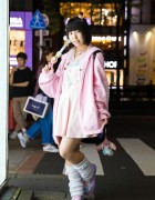 All Pink Harajuku Fashion w/ Tatsumi Tsurushima, Precure, Nile Perch, 2.Xjigen & Romantic Standard