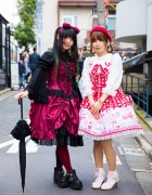 Harajuku Lolita Girls in Angelic Pretty, Putumayo, Lodispotto & Axes Femme