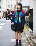 Harajuku Girl in Stylish Resale Fashion w/ Michael Kors & Dr. Martens