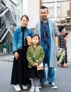 Cool Harajuku Kid's Street Style w/ Bomber Jacket & Converse Sneakers
