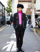 Punk Cake Harajuku Owner in Vintage Street Fashion