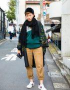 Harajuku Street Style Fashion w/ Yohji Yamamoto, Y's & CA4LA