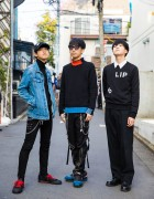 Harajuku Teen Street Styles w/ Raf Simons, Another Youth & Acne Studios