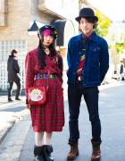 Harajuku Street Styles w/ Jenny Fax x Takahashi Makoto, Lily Rose Kanazawa, Vivienne Westwood & Dr. Martens