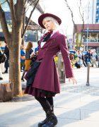 Atelier Boz Gothic Victorian Street Fashion in Harajuku