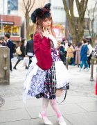 Harajuku Lolita in Metamorphose, MR Corset, Dreaming Drop & Gothic Holic