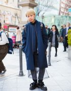 Blonde-Haired Harajuku Girl in H&M, 99%IS-, Agi & Sam, Dr. Martens & Vivienne Westwood