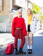 Harajuku Streetwear Looks w/ MYOB, Dholic, MCM, Vivienne Westwood, Freitag, YRU & Docs