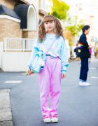 Pastel Resale Fashion in Harajuku w/ Spank!, Daidai, Panama Boy, Kiki2 & Question Mark